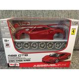 Auto De Coleccion 1:24 Ferrari 488 Gtb Maisto No Welly Burag