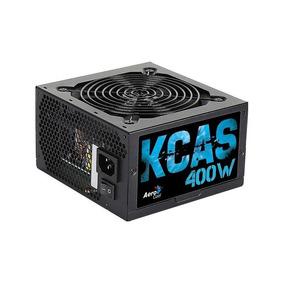 Fonte Atx Kcas 400w 80 Plus White Pfc Ativo Aerocool