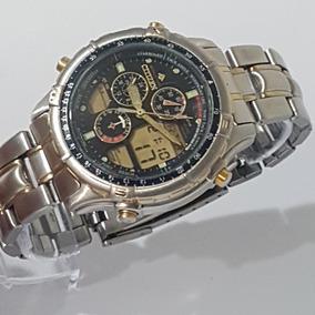 b0a912b4faa Antigo Relogio Citizen Hora Mundi Confira - Relógios no Mercado ...