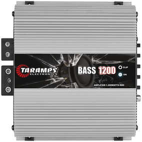 Modulo Taramps Bass 1200 2 Ohm 1200w Amplificador Automotivo