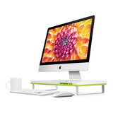 Base Para Monitor Satechi F1 Con 4 Puertos Usb -blanco