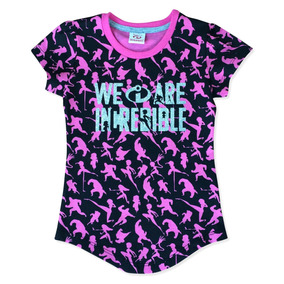 Blusa We Are Incredible De Los Increibles Official Para Beba