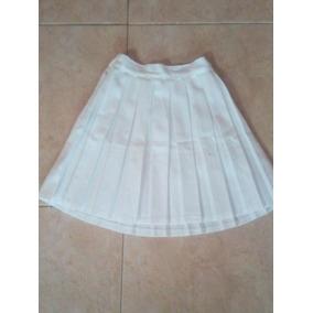 Falda Plisadas Para Niñas Blanca - Ropa e6d67cb136ac