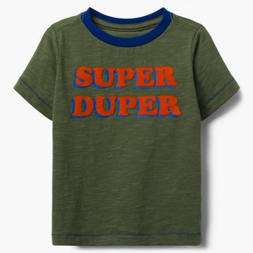 Playera Gymboree Nueva Super Duper Talla 3