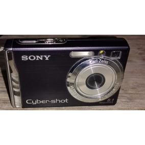 Câmera Digital Sony Cyber Shot Dsc-w90 + Cartão 1gb