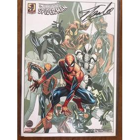 Poster 50x 30 Cm Autografado E Autenticado Stan Lee