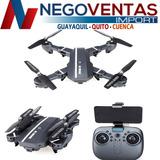 Drone Rc Elices Retractiles Wifi 2,4ghz Con Control Remoto