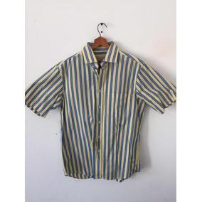Camisa Scappino En Perfecto Estado, Talla L