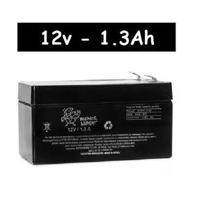 Bateria Selada 12v A 1.3ah Planet Battery Alarme Cerca Vrla