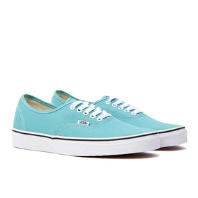 9256756d47f Tenis Vans Authentic Aqua Azul Dama Hermosos Urban Original