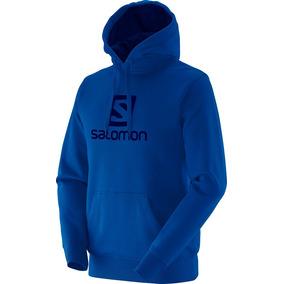 Blusa Salomon - Logo Salomon Hoodie - Masculina 09eba803fe5ab