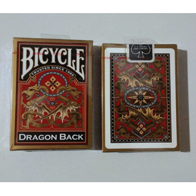 Barajas Dragon Back Gold Importadas Magia Poker Originales