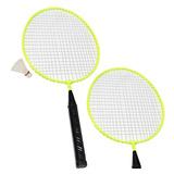 Kit Badminton Infantil 2 Raquetes 1 Peteca Winmax Wmy02021