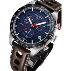 6ae1c0c11a8 Relógio Tissot Prs 516 Novo Modelo T1004171604100 Azul Marro