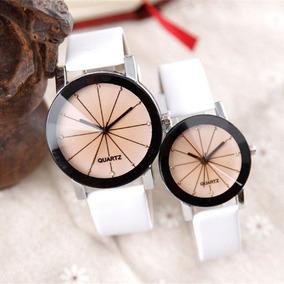 Relojes De Pareja Couple Watches Blanco