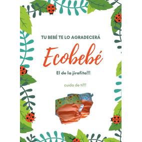 Pañal Ecologico Lavable Con Absorbente Ecobebé