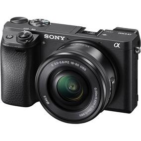 Câmera Sony Alpha A6300 C/ 16-50mm 4k Mirrorless Wi-fi C/ Nf