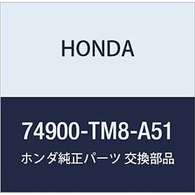 Genuine Honda 74900-tm8-a51 Alerón Trasero Adornar Ensamblaj