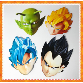 12 Máscaras Dragon Ball Super Para Lembrança De Aniversário