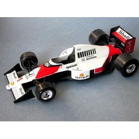 F1 Mclaren Mp4.burago 1/24 Del Campeon Ayrton Senna.impecabl