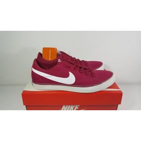 Tênis Nike Primo Court Canvas Vinho Original