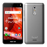 Celular Smartphone Twist 2018 S511 16gb Cinza