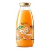 Suco Mitto Vidro 300ml Tangerina Integral Com 12 Unidades
