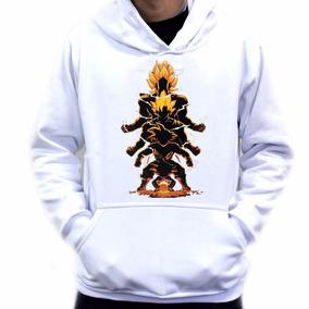 Blusa Moletom Casaco Blusão Goku Dragon Ball Z Fases 2b8d57b4868