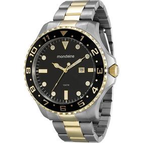 3ffaa072764 Relógio Mondaine Rosê Strass Calendário 78130lpmtrb2 - Joias e ...