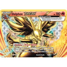 Carta Pokemon - Delphox Turbo / Break 14/124 - Em Português