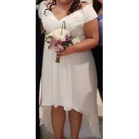 Vestidos de boda civil para gorditas de colores