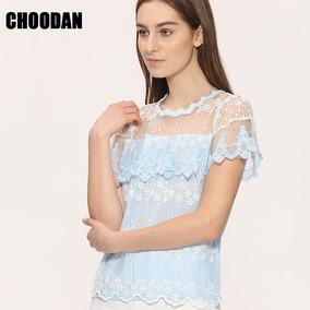 Blusa Luxo Importada Chifon