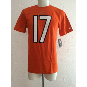 Playera Tee Shirt Chicago Bears  17 Jeffery Marca Nike Nfl 6e12f49015b0b