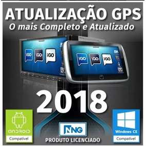 Atualização Gps 2018 Igo8 Amigo Primo Ultimate Titanium