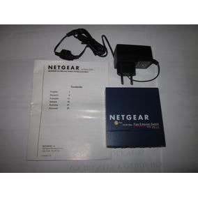 Switch Netgear Fs105, 5 Puertos