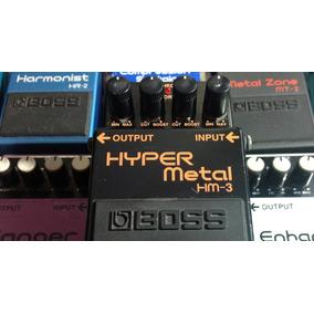 Hyper Metal Hm 3 Boss Monster Heavy Metal Pedal Distortion!