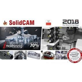 Solidcam 2018 + 500 Pós Processadores