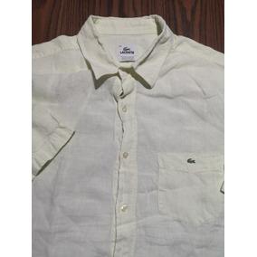 Camisa Lacoste 45 Lino Original