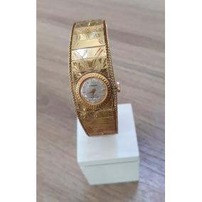 c2e3cde4bca Relogio Mirvaine De Ouro 18k - Relógios no Mercado Livre Brasil