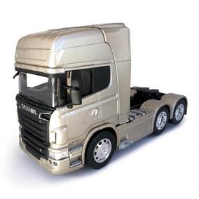 Scania R730 V8 Trucado Welly 1:32 Bege