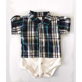 Body Xadrez Bebe - Bodies de Bebê no Mercado Livre Brasil ed687ab4f38
