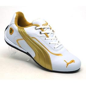 8e01184c16b Tenis Segunda Linha Puma Disc - Tênis Dourado no Mercado Livre Brasil