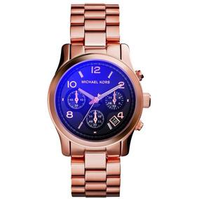 c6937509183 Relógio Michael Kors Mk5277 Rose Gold Tone Chronog - Relógios De ...