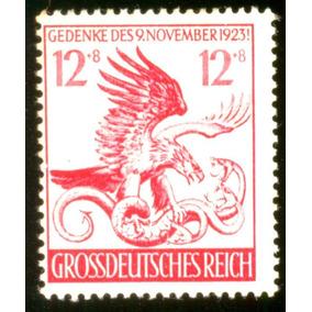 Alemanha Reich 1944 Águia Lutando Com Cobras Veja + Selos
