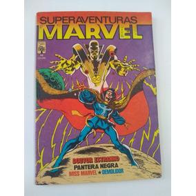 Superaventuras Marvel Nº 10 - 1983 - Ed. Abril - Rara !