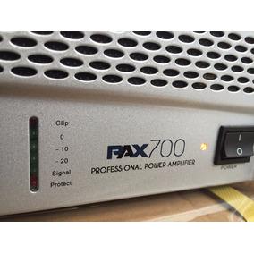 Proco Pax 700 V2 Amplificador De Potencia Dj 700w