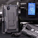 Case Sony Xperia T2 Ultra Protector + Gancho Holster Gorila