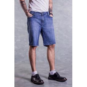 Bermuda Jeans Ellus Deep Blue Elastic ( Rock ) E.t Couro Mas 88f79e21ab6