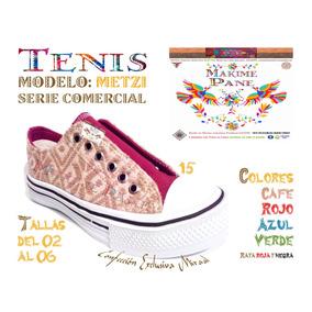 Tenis Artesanal *original Otomi*