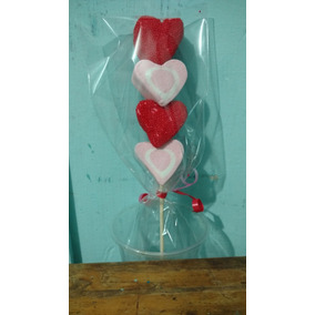 Paletas De Bombón Para San Valentín Mesa De Dulces Y Repostería En